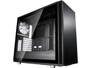 Fractal Design Define S2 Black Brushed Aluminum/Steel ATX Silent Modular Light Tint Tempered Glass Window Mid Tower Computer Case