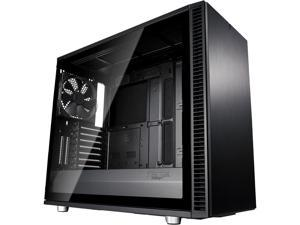 Fractal Design Define S2 Blackout Brushed Aluminum/Steel ATX Silent Modular Light Tint Tempered Glass Window Mid Tower Computer Case
