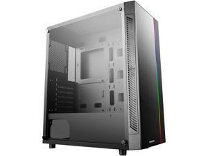 DEEPCOOL MATREXX 55 ADD-RGB ATX Mid-Tower Case Full-size Tempered Glass Motherboard SYNC Control ADD-RGB Lighting System