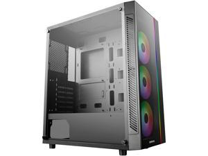DEEPCOOL MATREXX 55 ADD-RGB 3F ATX Mid-Tower Case 3x120mm ADD-RGB Fans Full-size Tempered Glass Motherboard SYNC Control ADD-RGB Lighting System