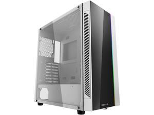 DEEPCOOL MATREXX 55 ADD-RGB WH ATX Mid-Tower Case Full-size Tempered Glass Motherboard SYNC Control ADD-RGB Lighting System