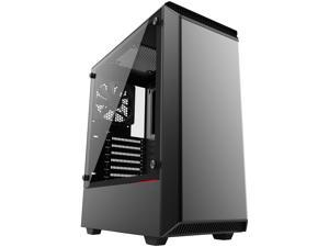 Phanteks Eclipse P300 PH-EC300PTG_BK Black Steel Chassis, Tempered Glass Window ATX Mid Tower Computer Case