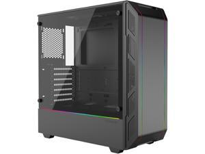 Phanteks Eclipse P350X PH-EC350PTG_DBK Black Steel / Tempered Glass ATX Mid Tower Compact EATX Mid-Tower, Tempered Glass, Digital RGB Computer Case