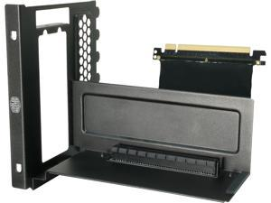 Cooler Master Accessory: Vertical Display VGA Holder Kit w/Riser Cable for MasterBox, MasterCase, H500 Series