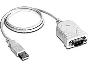 """TRENDnet Model TU-S9 26"""" USB to Serial Converter Male to Male"""