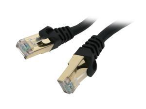 Rosewill RCW-10-CAT7-BK 10 ft. Cat 7 Black Shielded Twisted Pair (S/STP) Networking Cable