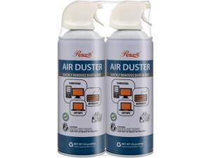 Rosewill Compressed Air Duster, 10 oz Gas Duster Cleaning Spray for Electronics (2-Pack) RCGD-18002