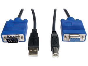 TRIPP LITE 6 ft. USB Cable Kit for KVM Switch B006-VU4-R P758-006