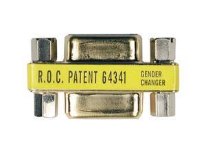 Tripp Lite P152-000 Compact Gold DB9 M/M Gender Changer