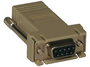 Tripp Lite B090-A9F-X Crossover Adapter RJ-45 DB9 (F) for Console Servers