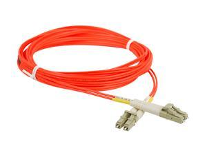 SIIG CB-FE0111-S1 16.40 ft. (5m) Multimode 62.5/125 Duplex Fiber Patch Cable LC/LC