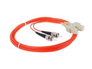 SIIG Multimode 62.5/125 Duplex Fiber Patch Cable ST/SC