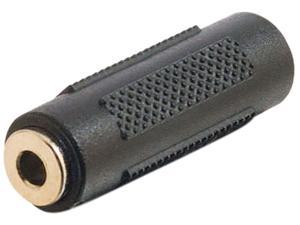 C2G 03170 3.5mm Aux F/F Stereo Coupler, TAA Compliant, Black