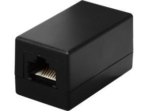 C2G 20201 Cat5E RJ45 Modular Inline Coupler - Black