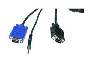LINKSKEY 10 ft. USB-VGA KVM Combo Cable C-KVM-SU10