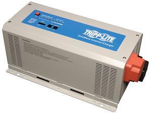 Tripp Lite 1000W Power Inverter / Charger, 12VDC 120V, Pure Sine-Wave Output, Hardwired (APS1012SW)
