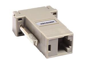 Raritan ASCSDB9F RJ-45(F) TO DB9(F) Serial Adapter