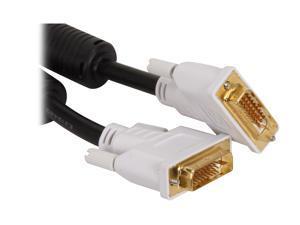 BYTECC DVI-D03 3 Feet Male to Male DVI-D Dual-Link Digital Cable w/Ferrites