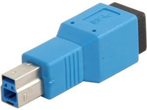 USB 3.0 Type B Male to Type B Female Adapter