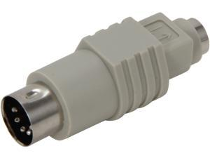 C2G 02475 PS/2 Female to AT Male Keyboard Adapter, Beige