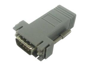 Avocent ADB0037 RJ-45F To DB-9M Crossover Adapter