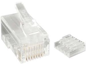 StarTech.com CRJ45C6STR50 Cat.6 RJ45 Stranded Modular Plug Connector, 50 Pack
