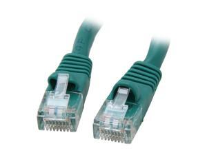 Green Pack of 4 eDragon 20 feet CAT5E Cable with UTP Molded Boot 350MHz