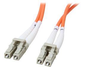 Coboc CY-OM1-LC/LC-30 98.43 ft. Orange Multimode 62.5/125 Duplex LSZH Fiber Patch Cable LC - LC,M-M
