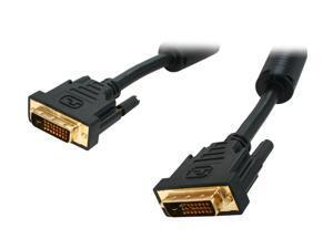 Kaybles Model DVI-DD-3FT Black 3 ft. M-M Premium DVI Digital Dual-Link with Ferrites M/M 3 feet - OEM