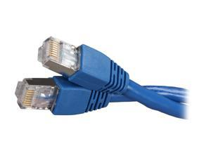 Kaybles 14ft CAT6A-14S 14 ft. Cat 6A Blue Color Shielded Stranded STP Network Cable Blue Color 14 feet - OEM