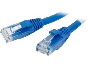 C2G 03973 Cat6 Cable - Snagless Unshielded Ethernet Network Patch Cable, Blue (2 Feet, 0.60 Meters)
