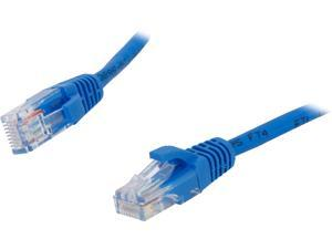 C2G 00394 Cat5e Cable - Snagless Unshielded Ethernet Network Patch Cable, Blue (6 Feet, 1.82 Meters)