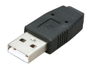 Nippon Labs AD-USBAMINB-MF Type A USB Male to Mini B Female Adapter Converter