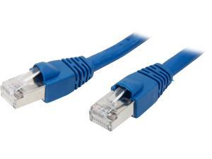 Nippon Labs CAT6A-STP-7BU 7 ft. CAT 6 Stranded STP Networking Ethernet Cable, Blue