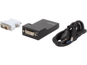 Lenovo 0B47072 USB 3.0 to DVI/VGA Monitor Adapter