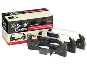 Free Ship Smith Corona Office 2000 2PK Ribbon and 1PK Correction Tape Cassette