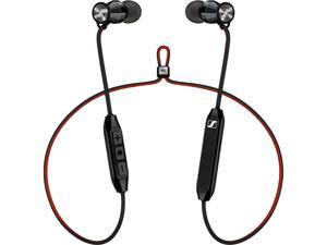 Sennheiser HD1 Free Bluetooth In-Ear Headphones with Three-Button Remote and Microphone (Black)