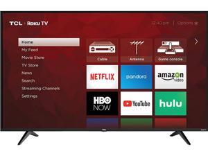 "TCL Class 5-Series 43"" 4K UHD HDR Dolby Vision ROKU Smart TV 43S517"