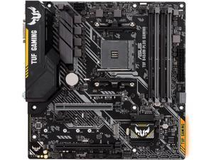 ASUS TUF B450M-PLUS GAMING AM4 AMD B450 SATA 6Gb/s USB 3.1 HDMI Micro ATX AMD Motherboard