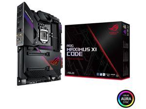 ASUS ROG Maximus XI Code Z390 Gaming Motherboard LGA1151 (Intel 8th and 9th Gen) ATX DDR4 HDMI M.2 USB 3.1 Gen2 Onboard 802.11 ac Wi-Fi