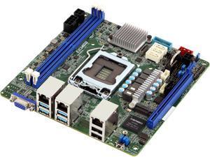 AsRock Rack E3C246D2I Mini ITX Server Motherboard Intel C246