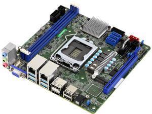 AsRock Rack C246 WSI Mini ITX Server Motherboard Intel C246