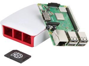 Raspberry Pi 3 Model B+ Complete Starter Kit, Official Case and PSU Included