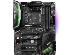 MSI X470 GAMING PRO CARBON AM4 AMD X470 SATA 6Gb/s USB 3.1 HDMI ATX AMD Motherboard