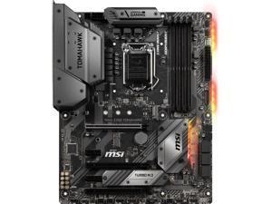 MSI MAG Z390 TOMAHAWK LGA 1151 (300 Series) Intel Z390 HDMI SATA 6Gb/s USB 3.1 ATX Intel Motherboard
