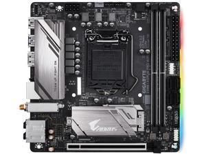 GIGABYTE Z390 I AORUS PRO WIFI LGA 1151 (300 Series) Intel Z390 HDMI SATA 6Gb/s USB 3.1 Mini ITX Intel Motherboard
