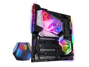 GIGABYTE Z390 AORUS XTREME WATERFORCE 5G LGA 1151 (300 Series) Intel Z390 HDMI SATA 6Gb/s USB 3.1 Extended ATX Intel Motherboard with Intel Core i9-9900K