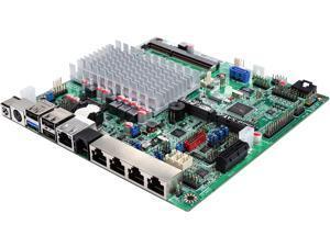 JetWay JNF9VT-2930 Intel Celeron N2930 SoC, Thin Mini-ITX w/ 4 x RJ45 Serial Ports + 1 x GBLAN Build in PenMount Touchscreen IC and RJ11 w/ 12V/+24V power for cash drawers