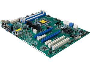 AsRock Rack E3C224 ATX Server Motherboard LGA 1150 Intel C224 DDR3 1600 / 1333 ECC UDIMM