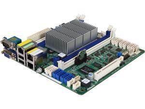 AsRock Rack C2550D4I Mini ITX Server Motherboard FCBGA1283 SOC Supports DDR3 1600 / 1333 ECC / non-ECC Unbuffered UDIMM